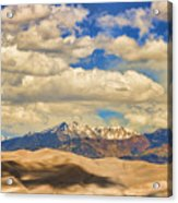 Great Sand Dunes National Monument Acrylic Print by James BO  Insogna