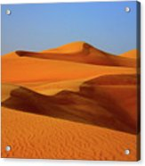 Great Sand Sea Acrylic Print by Chaza Abou El Khair