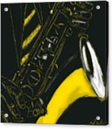 Great Sax Acrylic Print