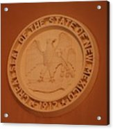 Great Seal Of The State Of New Mexico 1912 Acrylic Print