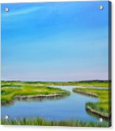 Great Sippewisset Marsh Acrylic Print