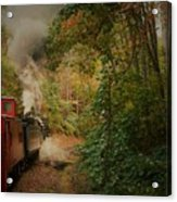 Great Smokey Mountain Railroad Acrylic Print