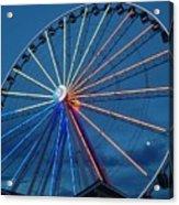 Great Smoky Mountain Wheel Acrylic Print
