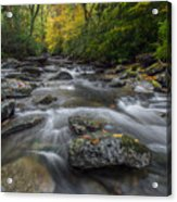 Great Smoky Mountains. Acrylic Print by Itai Minovitz