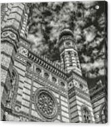 Great Synagogue Acrylic Print