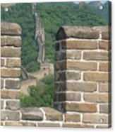 Great Wall From A Tower Acrylic Print