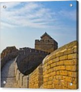 Great Wall Of China Acrylic Print