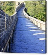 Great Wall Pathway Acrylic Print