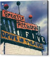 Greater Pittsburgh Five Drive-in Acrylic Print