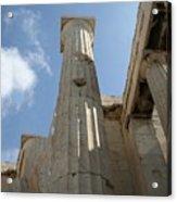 Grecian Ruins Acrylic Print