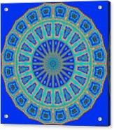 Grecian Tiles No. 2 Acrylic Print
