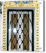 Greece Decorative Window Acrylic Print