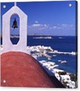 Greece. Mykonos Acrylic Print