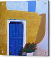 Greece Painting  Acrylic Print