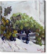 Greek Grapes Acrylic Print