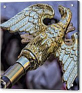 Greek Independence Day 4_10_16 Brass Eagle Acrylic Print