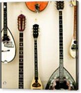 Greek Instruments Acrylic Print