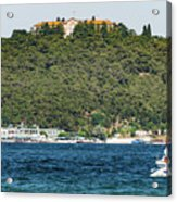 Greek Orthodox School And The Sea Of Marmara Acrylic Print