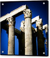 Greek Pillars Acrylic Print