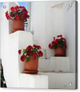 Greek Steps  Acrylic Print