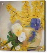 Greek Vase Acrylic Print