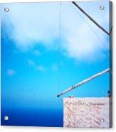 Greek Windmill Acrylic Print