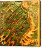 Green - Tile Acrylic Print