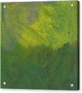 Green Abstract 1 Acrylic Print