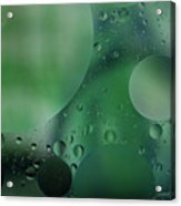 Green Abstract Acrylic Print