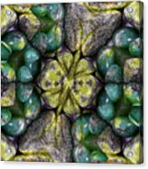 Green And Blue Stones 2 Acrylic Print