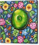 Green Apple Acrylic Print