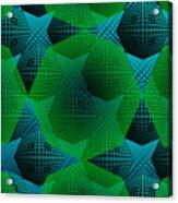 Green Arhitecture Acrylic Print