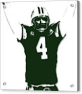 Green Bay Packers Bret Favre 3 Acrylic Print