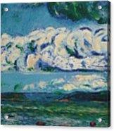 Green Beach Acrylic Print