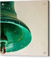 Green Bell Acrylic Print