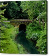 Green Bridge Acrylic Print