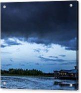Green Cay Storm 6 Acrylic Print