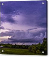 Green Cay Storm 7 Acrylic Print