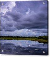 Green Cay Storm 8 Acrylic Print