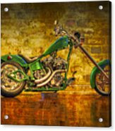 Green Chopper Acrylic Print