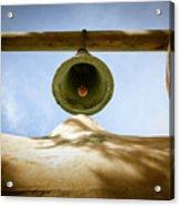 Green Church Bell Acrylic Print