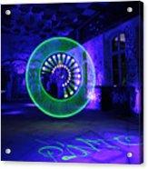 Green Circle Acrylic Print