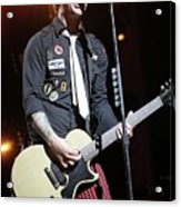 Green Day Billie Joe Armstrong Acrylic Print