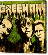Green Day Acrylic Print