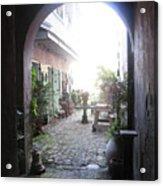 Green Door 7 Acrylic Print