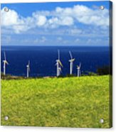 Green Energy Acrylic Print
