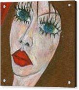 Green Eyed II  Acrylic Print