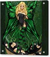 Green Fairy Of Poison Acrylic Print