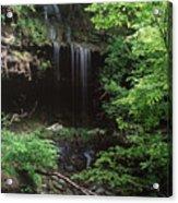 Green-falls Acrylic Print