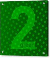 Green Goddess Santhia Acrylic Print